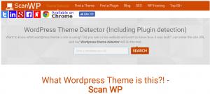 Scan WP es una herramienta para saber en qué está hecha una web